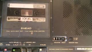 Audio Tech Free-wheeler Pizza Radio Commercials KRPN 1986 SLC Utah