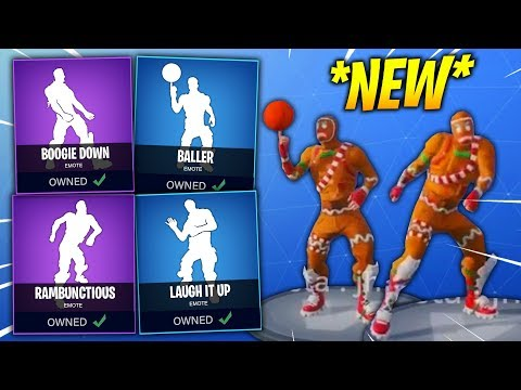 *NEW* Fortnite Season 4 DANCES IN REAL LIFE LEAKED! (Rambunctious, Boogie Down, Baller, Laugh It Up)