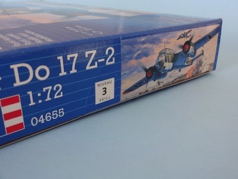 Inbox Review - REVELL - Dornier Do 17 Z-2 - 1:72 Scale