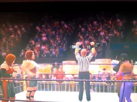 WWE 13- Femmes Fatal vs. Naughty Grrls