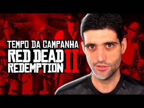 Tempo OFICIAL de duração de Red Dead Redemption 2, o o dia esta chegando e estou ficando LOUCO
