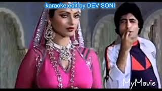 Salame ishq Meri jaan karaoke with lyrics edited by Dev Soni. Pls. Like, Subscribe and share.