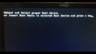 Reboot And select proper boot device solved 100% SURE BY SHIVAM GAHIRE