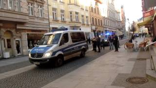Teil 2,Demo gegen Flüchtlings-Abschiebungen+Satire-Gegendemo, Halle-Saale,4.2.17