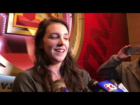 Dave Sprau - VIDEO: ISU's Bridget Carleton Drafted By WNBA's Connecticut Sun