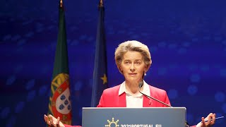 Pfizer will 'catch up' says Ursula von der Leyen following delays to vaccine deliveries
