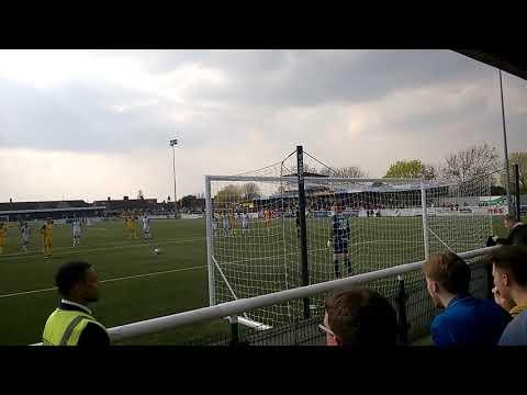 Jamie Collins Penalty v Havant & Waterlooville March 2019