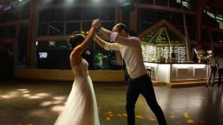 "Our first dance inspired by Ed Sheeran's ""Thinking out loud"" video"