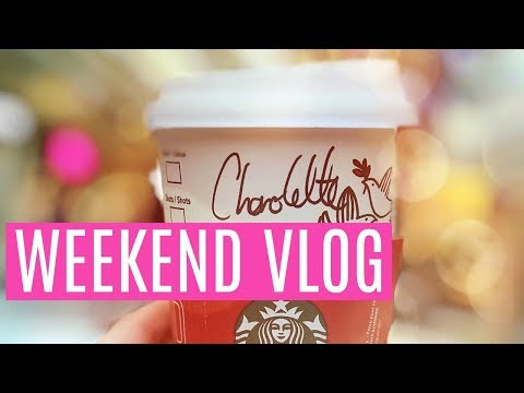 WEEKED VLOG - CHRISTMAS AT THE TRAFFORD CENTRE, THE NEW CAR ARRIVED & DECORATING HAS STARTED!