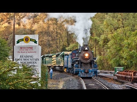 HD:Aboard the Reading & Northern 2013 Autumn Leaf Train Excursion