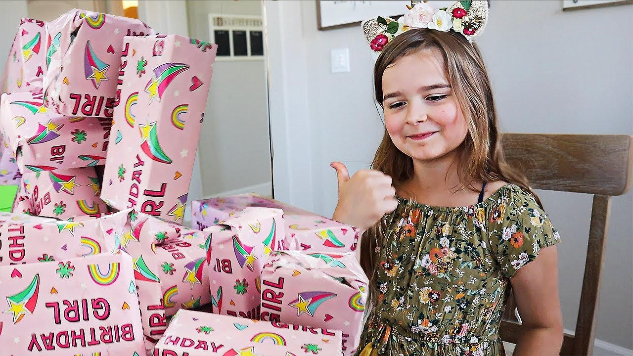 Download Maddy's 9th Birthday! - Opening Presents! | JKrew