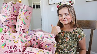 Maddy's 9th Birthday! - Opening Presents! | JKrew
