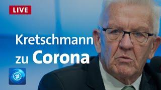 Baden-württemberg stemmt sich mit landesweiten ausgangsbeschränkungen nach weihnachten gegen die dramatisch steigenden corona-infektionen. ministerpräsident ...