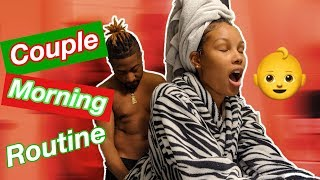 OUR MORNING ROUTINE AS A COUPLE!!! (TRYING TO MAKE BABY EDITON)