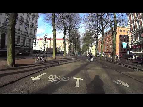 Cykeltur i Göteborg - Kemivägen till Rosenlund