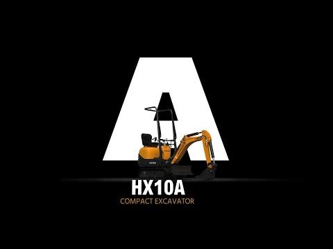 Video Pásové minirypadlo HX10A