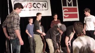 Magcon Tour Boys - Push-Up Competition, Washington DC 12/29/13