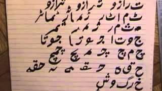Learn Urdu Lesson#7 Urdu Alphabets And Vocabulary Part 1