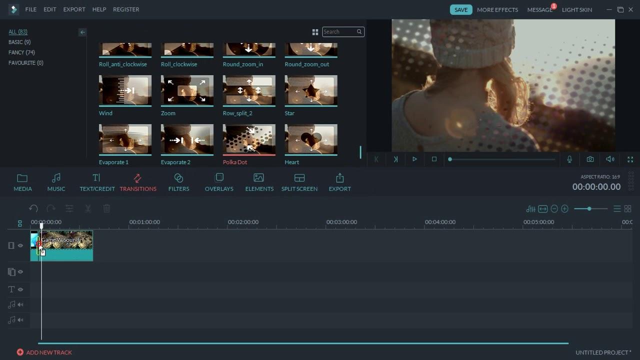 Wondershare Filmora The Light Video Editor