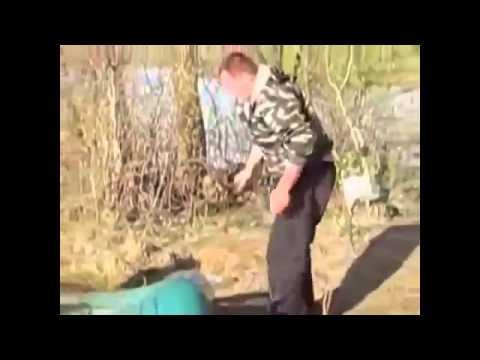 засадил на рыбалке видео