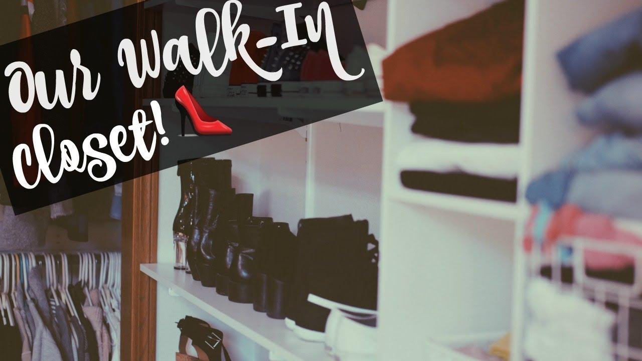 DIY Walk In CLOSET TOUR!!   On A Budget!