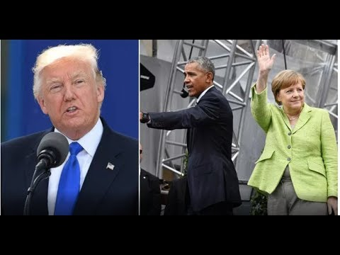Thumbnail: PRESIDENT TRUMP GIVES NASTY SURPRISE TO OBAMA AND MERKEL!