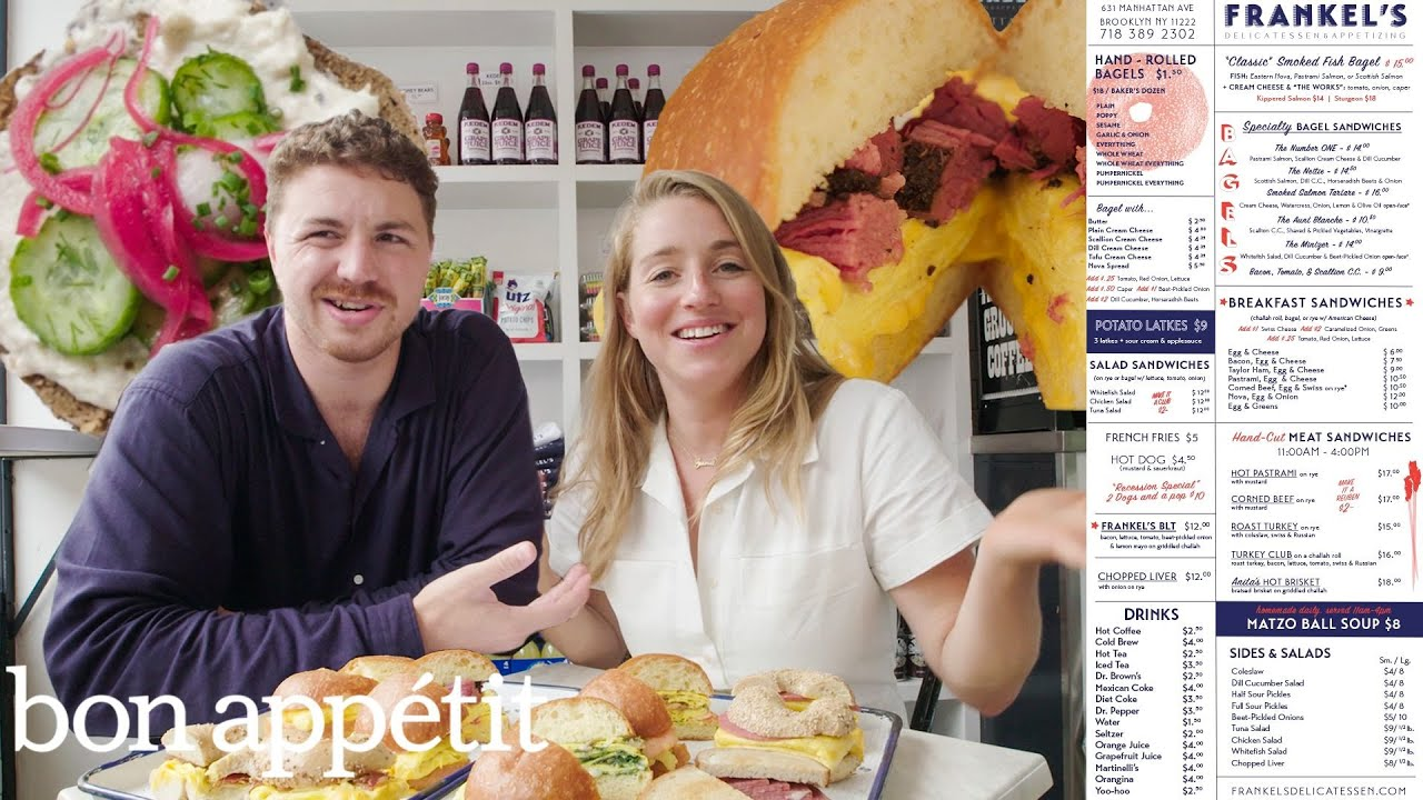 Download Trying Everything on the Menu at a Famous Brooklyn Deli (Ft Molly Baz) | Bon Appétit