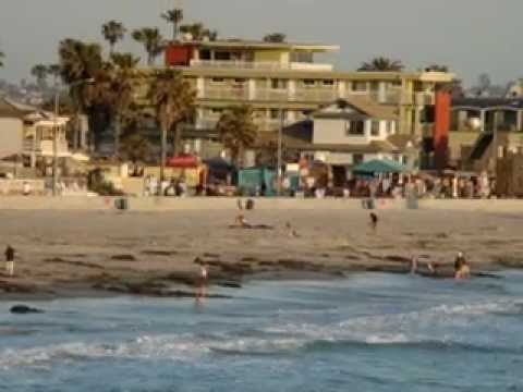 Pacific Beach Oceanfront and Beach Hotels