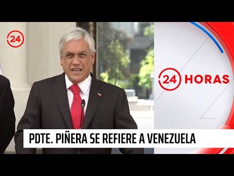 """Presidente Piñera anuncia que Chile reconoce a Juan Guaidó como presidente interino de Venezuela"""""""