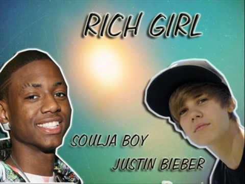 justin bieber feat soulja boy RICH GIRL