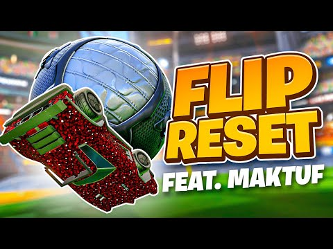 Flip Reset Tutorial (Feat. Maktuf) | How to become a Mechanical God