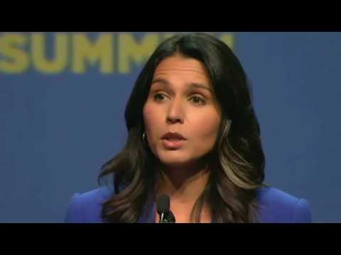 Tulsi Gabbard speaks out against the regime change war in Syria