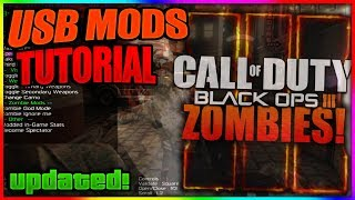 Black Ops 3 Zombies: NEW USB MOD MENU TUTORIAL   + DOWNLOAD   XBOX ONE, PS4, XBOX, PS3