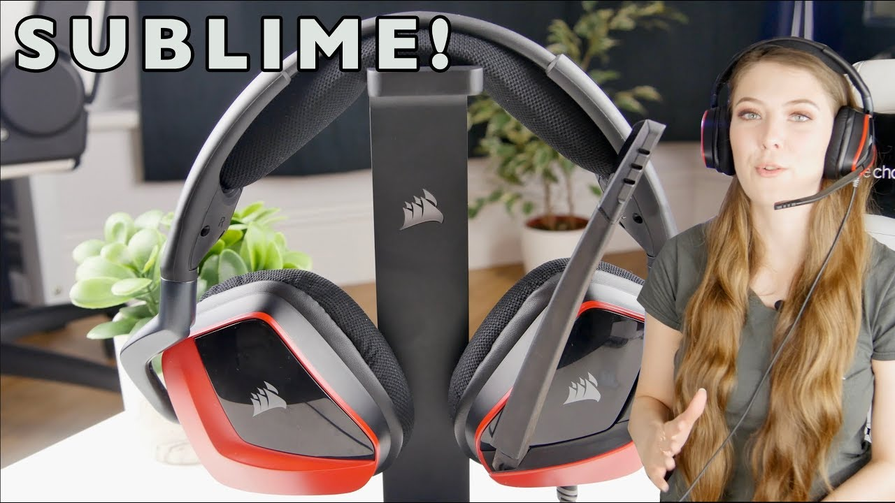 59529af8eef Corsair Void Pro Surround Gaming Headset Review - YouTube