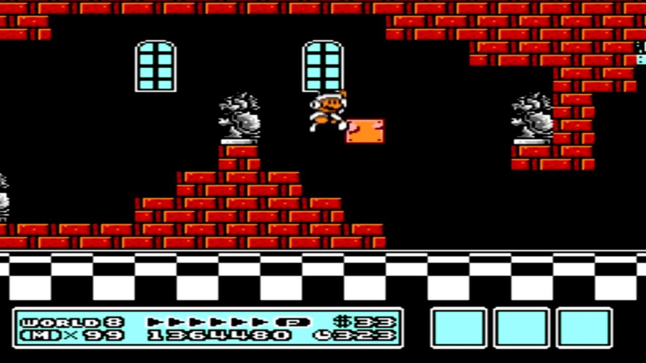 Super Mario Bros 3 World 8 Bowser S Castle Youtube