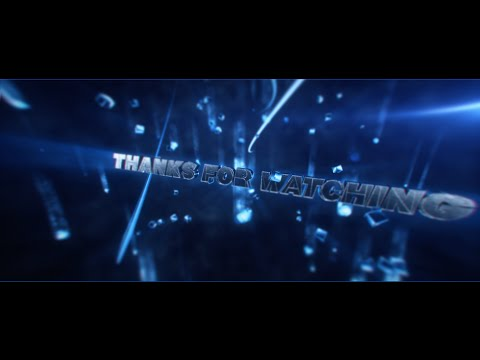 FREE 3D Outro Template #13 + FREE Download