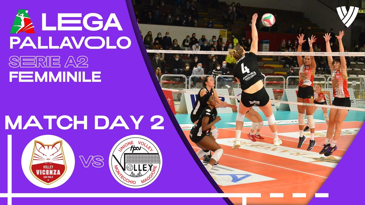 Anthea Vicenza vs. Montecchio - Full Match | Women's Serie A2 | 2021