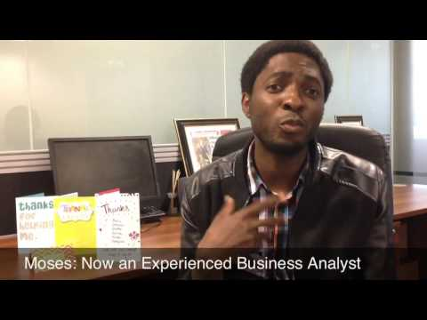 Moses Talks About His Experience At Career Insights As A Business Analyst