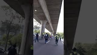 Manifestación policía federal