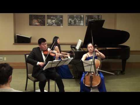 Saint-Saëns Piano Trio No.2 in E Minor, Op.92, complete