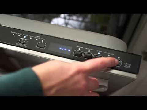 Amana Dishwashers: Fully Integrated Console
