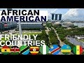 Capture de la vidéo African Countries Where Black Americans Can Easily Relocate To Part 1