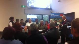 Wiradjuri Elders singing