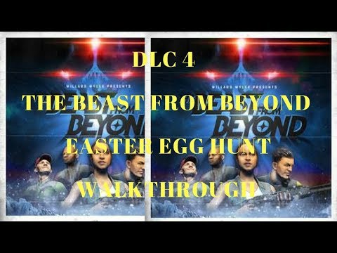 Live DLC 4 The Beast From Beyond Easter Egg Quest Infinite Warfare Zombies #ps4live