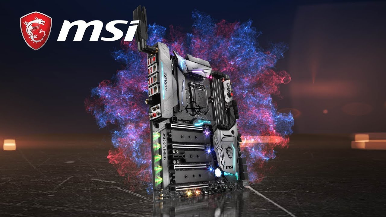 Msi Z370 Godlike Gaming One Board To Rule Them All