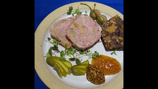 Country Pate with Pistachios - Chef Martin Sullivan