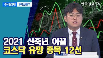 2021 신축년 이끌 코스닥 유망 종목 12선 / 주식경제 이슈분석 / 한국경제TV