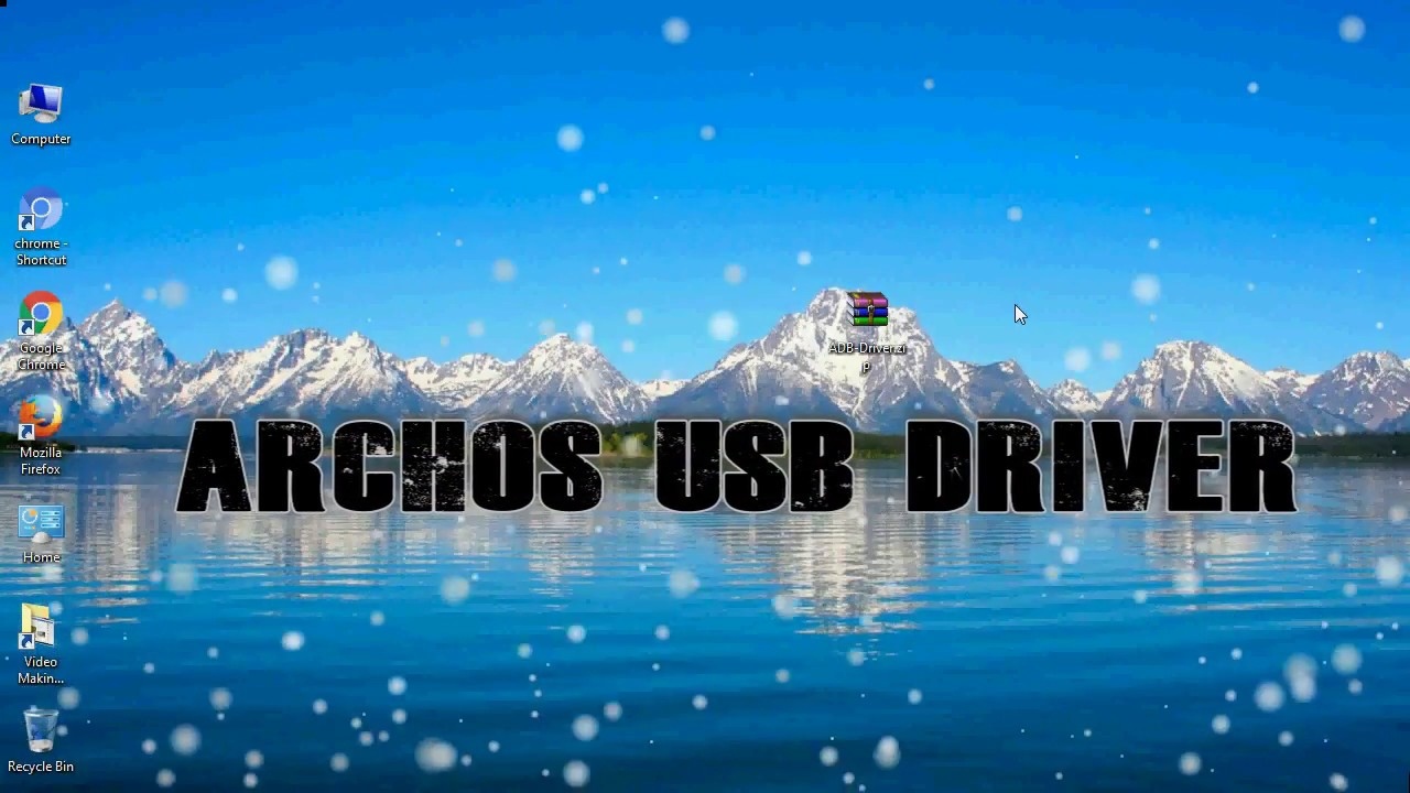 ARCHOS ADB USB DRIVERS DOWNLOAD