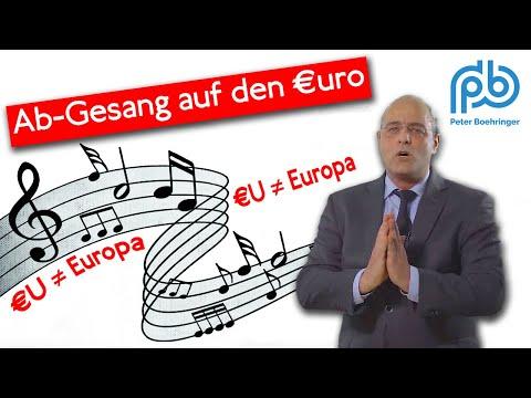 Das Hohelied auf den Euro, gesungen mit Klartext von Peter Boehringer (88)