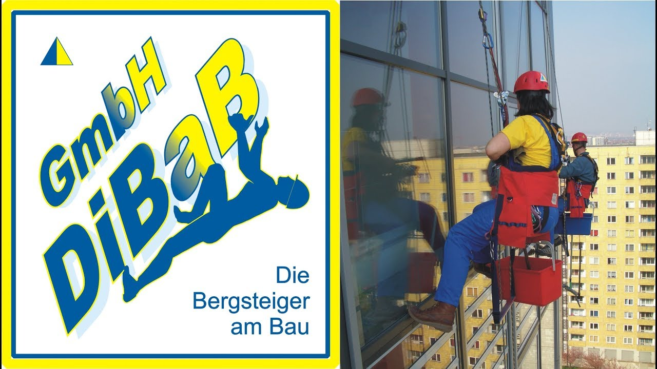 DiBaB GmbH Die Bergsteiger am Bau in Dresden, Dachsteiger, Industriekletterer, Dachreparatur